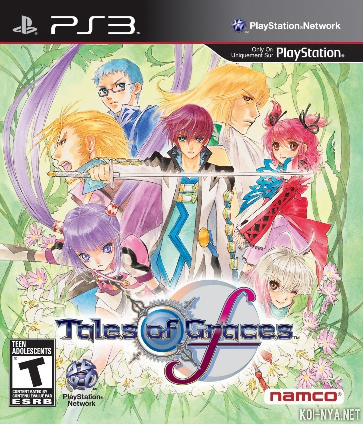 Portada americana de Tales of Graces: f
