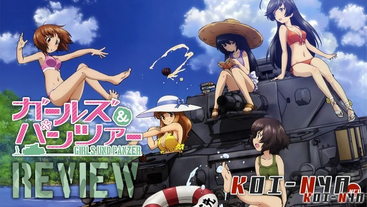 review girls und panzer