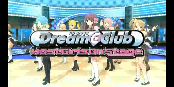 Dream Club Host Girls on Stage